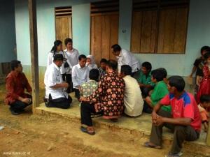 Presiden berdialog dengan Orang Rimba di Perumahan Sosial Foto Ade Chandra Dok KKI WARSI